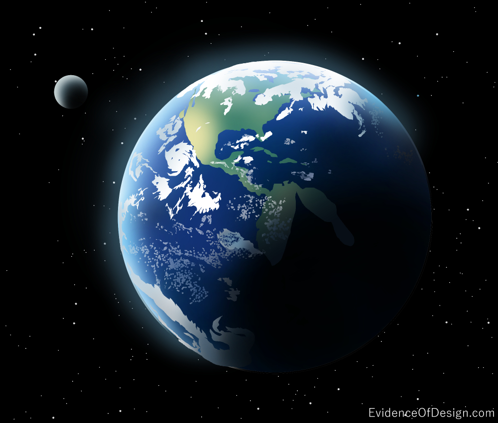 I bet even YOU don't know how special the Earth is compared to all other planets! Find out all about it by clicking above. #earth #space #evidenceofdesign #moon #godsdesign
